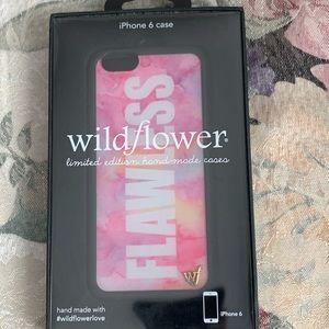Wildflower iPhone 6 case